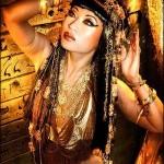 Египет женщина кошка