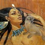 Священная кошка Египта, что символизирует кошка в Египте, история кошек в Египте