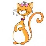 картинка рыжая кошка