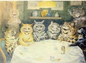кошки рыжие Англия история