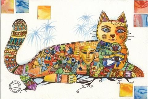кошки-в Египте загадки кошек и богинь