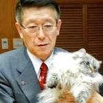 путин подарил кота японскому губернатору