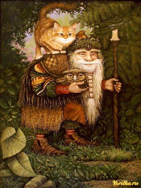 кошки у древних славян