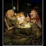 рыжий кот подарок небес мотиватор, веселый кот сидит, сказка