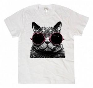 футболка с котом смешным милым