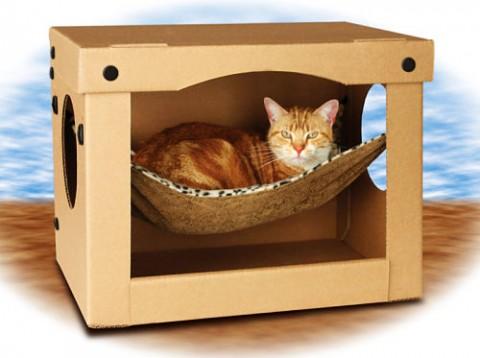 Виды кошачьих домиков