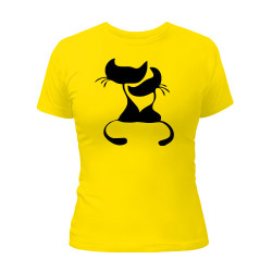 футболка-с-кошками