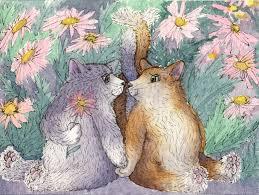 коты-рисунок
